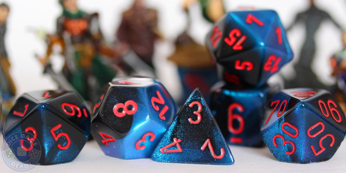 Buy D&D dice sets. 7-piece sets available in dozens of colors and styles!
