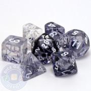 7-piece Nebula dice set - D&D dice