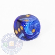Vortex Dice - 12mm - Blue