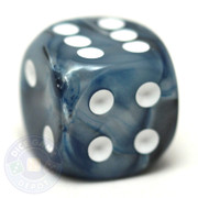 Lustrous Slate dice from Chessex
