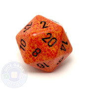 Big d20 - 34mm speckled Fire dice
