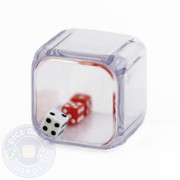 Triple Dice - 2 red 1 white