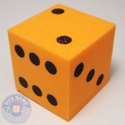 Foam Dice - 25mm - Orange