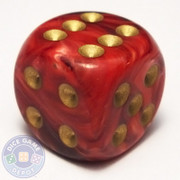Vortex Dice - Burgundy