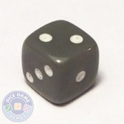 5mm Opaque Gray Dice