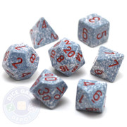 Dice set - Speckled - Air