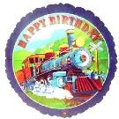 Express Train Mylar Balloon