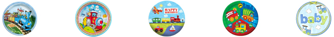 Little Engine, Classic Steam, Express Train, Planes Trains Autos, Carters Boy Party Supplies