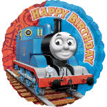 Thomas Happy Birthday Mylar Balloon