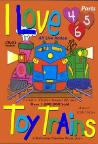 I Love Toy Trains DVD Parts (4-6)