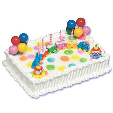 Circus Train Cake Decorating Kit