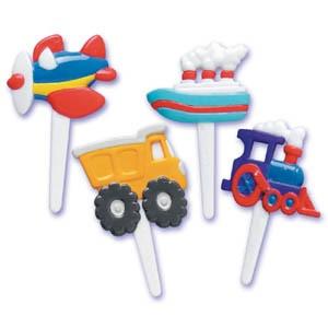 Transportation Puffy Picks (12 ct.)