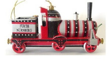 Metal Mini Train Ornament