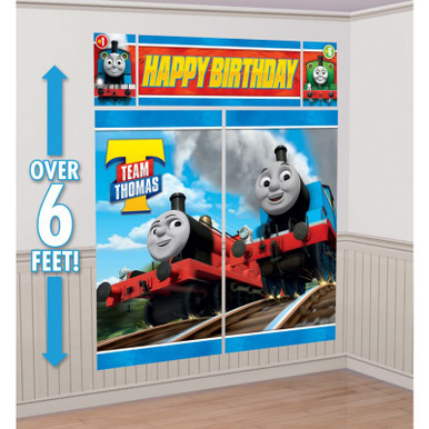 Thomas & Friends Giant Wall Scene Party Decor
