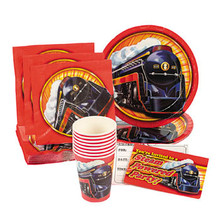 Classic Steam Train Deluxe Birthday Party Pack