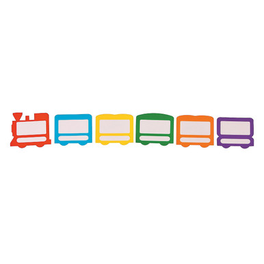 Dry Erase Build-A-Sentence Train Magnets