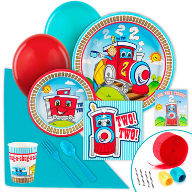 Two Two Train Standard Party Pack (8 Guests)