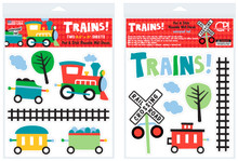 Trains Peel & Stick Wall Decals