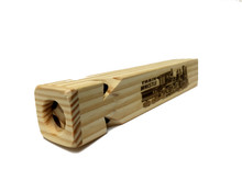 4-Tone Wooden Train Whistle  Side View