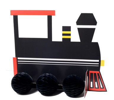 Railroad Centerpiece Decor