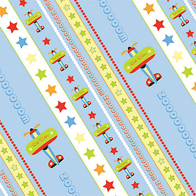 Airplanes Scrapbooking Paper