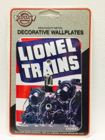 Lionel Trains Decorative Switch Plate