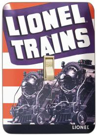 Lionel Train Switch Plate