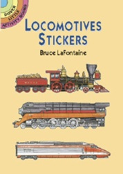 Locomotives Stickers