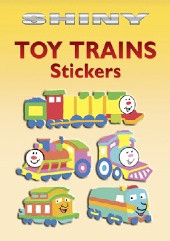 Shiny Toy Train Stickers