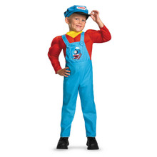 Thomas Classic Muscle Costume - SMALL (2T)  sc 1 st  Train Party & Halloween Train Costumes u0026 Accessories