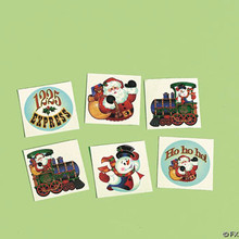 Holiday Train Tattoos (72 Pieces)