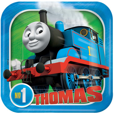 Thomas & Friends Full Steam Ahead Dessert Plates (7 inch)