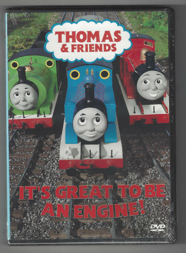 Its Great to be an Engine (DVD) Front