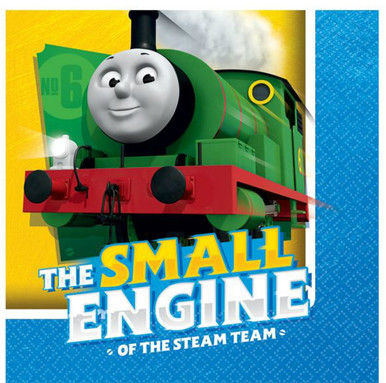 Thomas & Friends Full Steam Ahead Beverage Napkins