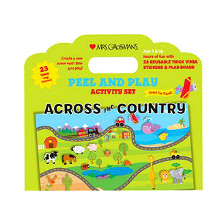Across the Country Peel N Play Activity Set
