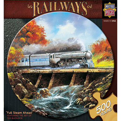 Full Steam Ahead Jigsaw Puzzle (500 pc)