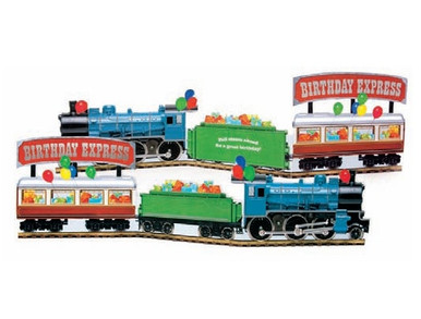 Birthday Express Train Greeting Card