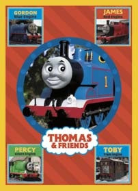Thomas And Friends Birthday Card