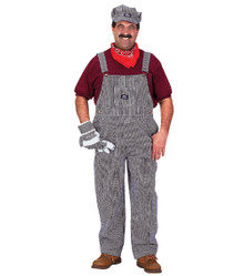 Adult Train Engineer Costume Large - Male