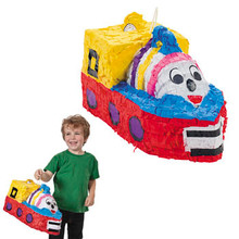 Birthday Party Train Pinata