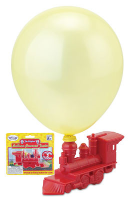 Balloon Powered Train Whistle