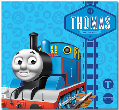 Thomas The Tank Engine DELUXE Scrapbook Album