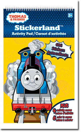 Thomas & Friends Stickerland Activity Pad