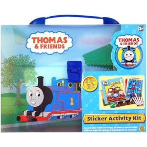 Thomas Train Sticker Activity Kit with Carrying Case