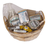 """Same Scent Sampler"" Organic Soap Gift Basket"