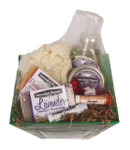 "SMALL ""Favorites Soap Sampler"" Organic Gift Basket"