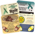 Customized Coaster, Date Rape Drug Test (Minimum Order of 500 Required)