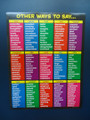 Other Ways to Say Poster