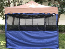 Flame Retardant Mesh Food Walls (Size:10'x10')