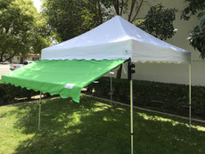 Custom Awning Cover (Size: 10'x10')